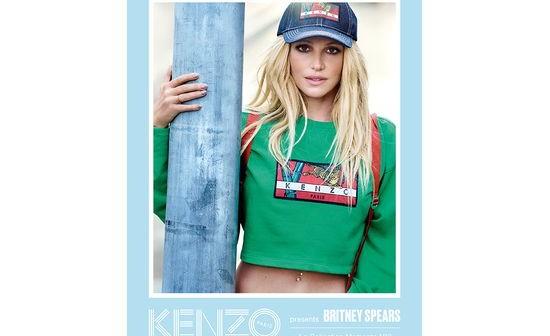بريتني سبيرز الوجه الإعلانيّ الجديد لعلامة Kenzo