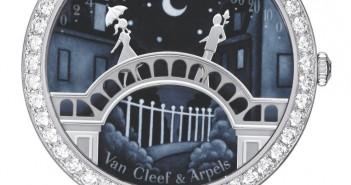 Lady Arpels Pont des amoureux Paved Bracelet - VCARN9VJ00_476288