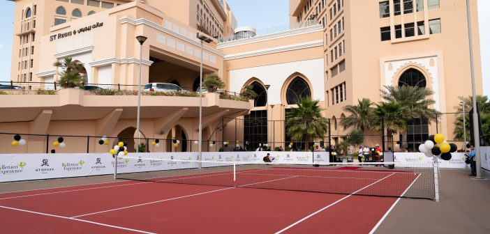"""أرقى مركز تنس في الدوحة """"مركز بوليتيري"""""""