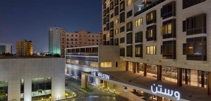 مأكولات صحية لدى فندق ونادي الصحي ويستن الدوحة