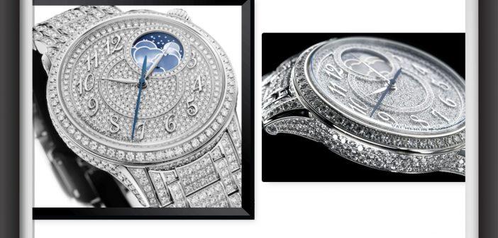 أنوثة تشع بالماس مع Égérie moon phase jewellery