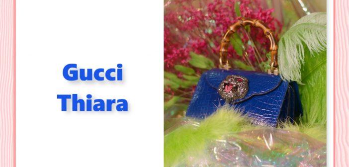 ألوان زاهية مع حقيبة Thiara من GUCCI