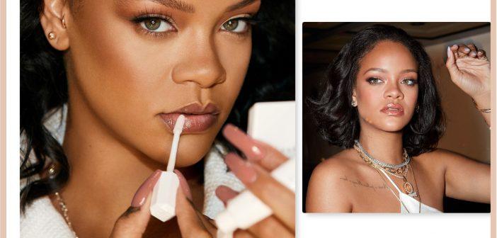 إطلالة Fenty Face الحيوية مع Rihanna